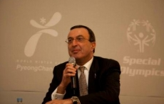 CGDC President Stoyanov speaks at the Special Olympics Global Development Summit
