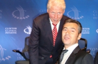 Bill Clinton and Stamen Stantchev